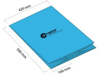 Antikorozní sáček se sklady 420+2x160x500 mm (balení 50 ks)