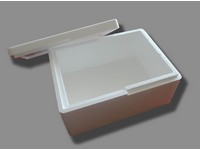 Polystyrenový box s víkem 390x290x185 mm