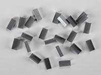 Kovové spony pro PP a PET pásky šíře 10 mm