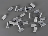 Kovové spony pro PP a PET vázací pásky šíře 12 mm