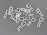 Plastové spony pro PP vázací pásky šíře 16 mm