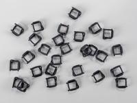 Fosfátové (drátěné) spony pro PP a PES vázací pásky šíře 13 mm
