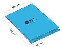 Antikorozní pytel se sklady 600+2x200 x800 mm (balení 50 ks)