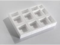 Polystyrenový ochranný roh 75x75x75 mm; sada 35 kusů