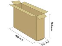 Klopová krabice 3VVL 400x100x300 mm