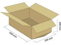 Klopová krabice T-BOX z 5VVL 590x390x260 mm