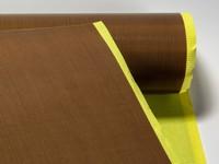 Teflonová tkanina 209 µm, šíře 1000 mm. Lepivá.