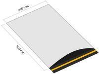 Samolepicí plastová obálka 400x500 mm s klopou (balení 100 ks)