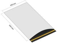 Samolepicí plastová obálka 450x650mm s klopou (balení 100 ks)